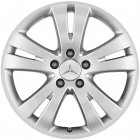"new 17"" Mercedes 5 Spoke alloy wheels"