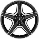 "new 18"" AMG 5 Spoke alloy wheels"