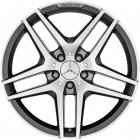 "new 18"" AMG 5 Twin Spoke alloy wheels"