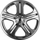"new 22"" Brabus Monoblock Q alloy wheels"