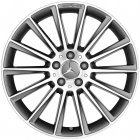 "new 21"" AMG Multi Spoke alloy wheels"