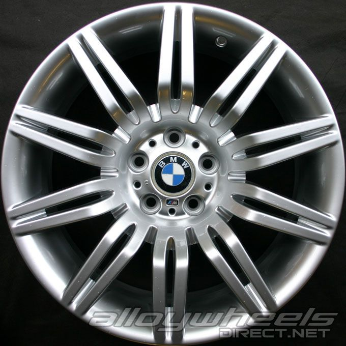 19 Quot Bmw 172m Wheels In Silver Alloy Wheels Direct 22439