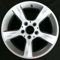 "17"" Mercedes 5 spoke wheels B66470609 B66470610"