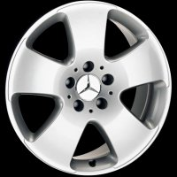 "17"" Mercedes 5 spoke wheels B66474258"