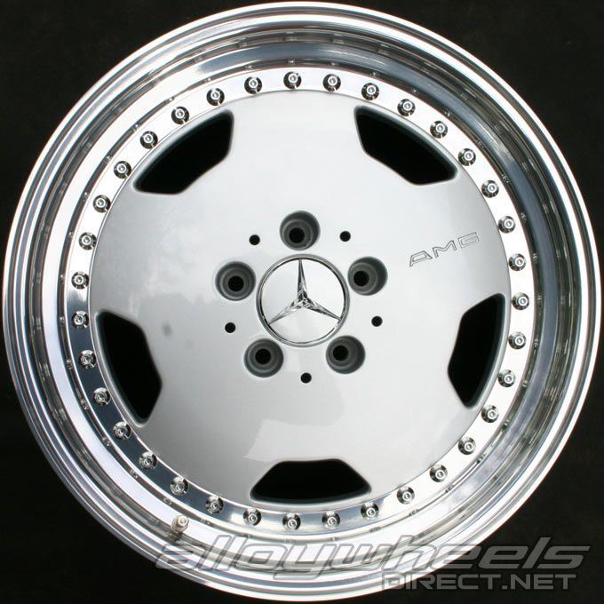 17 Quot Amg I 3pc Wheels In Standard Silver With High Sheen