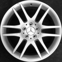 "17"" Mercedes 6 Twin spoke wheels B66474385 B66474386"