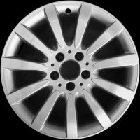 "17"" Mercedes 11 spoke wheels B66474357"
