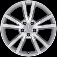 "18"" Mercedes Shikrio wheels A20740111027X07 A20740112027X07"