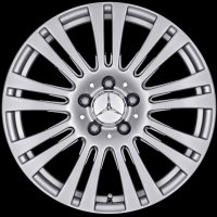 "17"" Mercedes 9 Twin Spoke wheels A20740101029765"