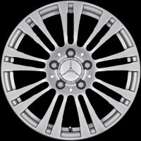 "16"" Mercedes 9 Twin Spoke wheels A20740100029765"