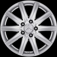 "16"" Mercedes 10 Spoke wheels A20740108029709"