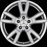 "17"" Mercedes Naantali wheels B66474495 B66474496"