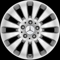 "17"" Mercedes 12 Spoke wheels A20440100029765"