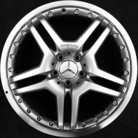 "19"" AMG IV 2pc wheels B66031375 B66031376"