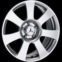 "17"" Mercedes 7 Spoke wheels B66474259"