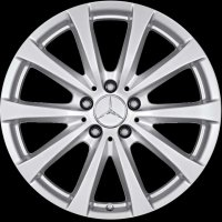 "18"" Mercedes 10 spoke wheels B66474534 B66474535"