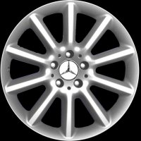 "18"" Mercedes 10 Spoke wheels B66474346 B66474347"