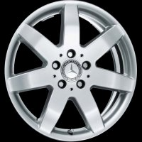 "17"" Mercedes 7 Spoke wheels B66474184"
