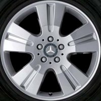 "18"" Mercedes 5 Double Spoke wheels B66474185"