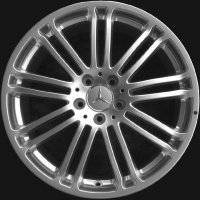 "19"" Mercedes Denebola wheels B66474313 B66474314"