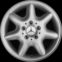 "15"" Mercedes Elnath wheels B66470991"