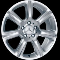 "17"" Mercedes Anchat wheels B66471517 B66471518"