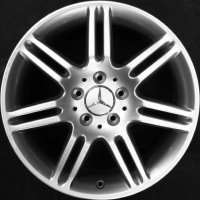 "17"" Mercedes 7 twin spoke wheels B66474263 B66474264"