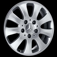 "16"" Mercedes 9 Spoke wheels B66471854"