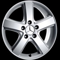 "16"" Mercedes 5 Spoke wheels B66474225"