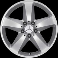 "17"" Mercedes 5 Spoke wheels B66474507 B66474508"