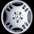 "new 15"" Mercedes Enir alloy wheels"