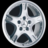 "17"" Mercedes Tureis wheels B66470513"
