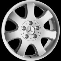 "17"" Mercedes Mirzam wheels B66471332 B66471333"