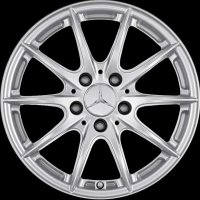 "16"" Mercedes 10 Spoke wheels B66471845"