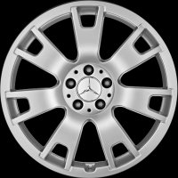 "19"" Mercedes 7 Spoke wheels A20440152029709 A20440153029709"