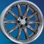 "new 22"" Hartge Classic B Anthracite NLA alloy wheels"