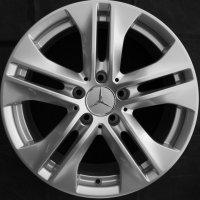 "17"" Mercedes 5 Twin Spoke wheels A21240110009765"