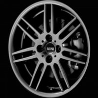 "17"" MINI R99 Double Spoke wheels 36116778426"