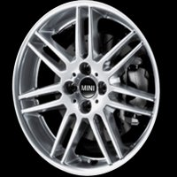 "17"" MINI R99 Double Spoke wheels 36116778427"
