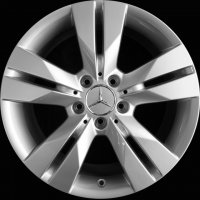 "17"" Mercedes 5 Twin Spoke wheels B66474441 B66474454"