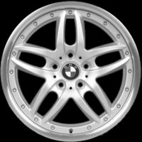 "17"" BMW 71 wheels 36116760821"