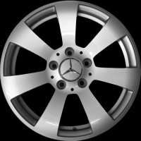 "16"" Mercedes 7 Spoke wheels A20440111029765"