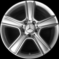 "17"" Mercedes Proserpina wheels A20440127029765 A20440128029765"