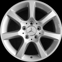 "16"" Mercedes 7 Spoke wheels B66470766"