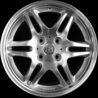 "17"" Smart Brabus Mono VI  wheels A4544010501 A4544020101"