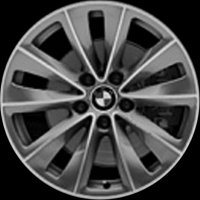 "18"" BMW 247 wheels 36116777350 36116777351"
