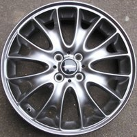 "17"" MINI R114 Cross Spoke wheels 36116786220"