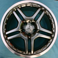 "19"" AMG IV 2pc wheels B66031369 B66031370"