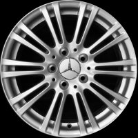 "16"" Mercedes 10 Twin Spoke wheels A21240107029765"