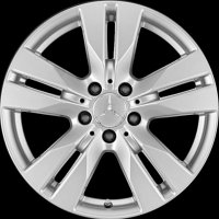 "17"" Mercedes 5 Twin Spoke wheels A20740101009765 A20740102009765"